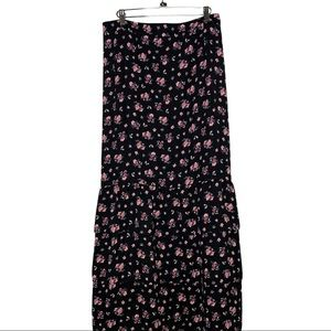 Fashion Union Plus sz 22 floral midi skirt